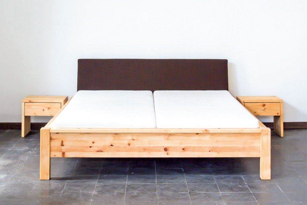 Zirbenholz bett die holzartikel manufaktur for Bett zirbenholz